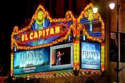 El Capitan - Hollywood Boulevard - Los Angles - Californie - United States