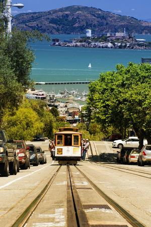 Cable Cars - Streets - Downtown - San Francisco - Californie - United States