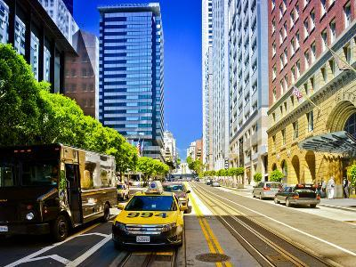 Taxi Cabs - Downtown - San Francisco - Californie - United States