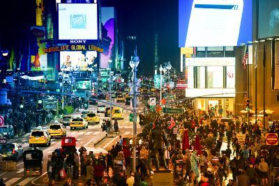 Urban Landscape - Yellow Cabs - Times Square - Manhattan - New York City - United States