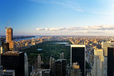 Central Park - Sunset - Manhattan - New York City - United States
