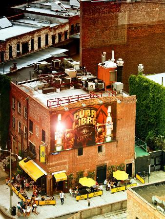 Lifestyle Scene, Serafina Restaurant of Chelsea, Meatpacking District, Manhattan, New York