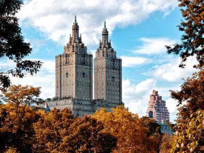 The San Remo Building in the Fall, Central Park, Manhattan, New York, United States