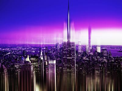 Urban Stretch Series, Fine Art, Empire State Building, Manhattan, New York, United States