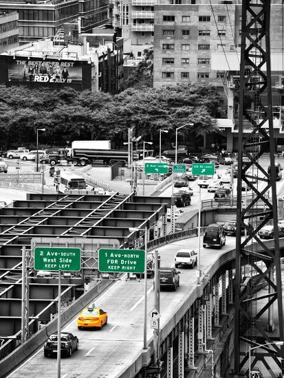"""Road Traffic on """"59th Street Bridge"""" (Queensboro Bridge ..."""