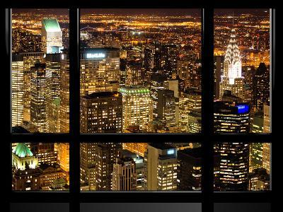 Window View, Special Series, Landscape by Night, Manhattan, New York City, United States