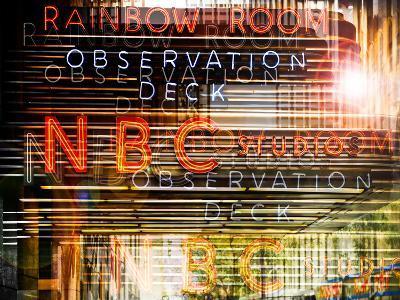 Urban Vibrations Series, Fine Art, NBC Studio, New York City, United States