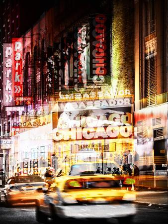 Urban Vibrations Series Series, Fine Art, Times Square, Chicago, New York, United States
