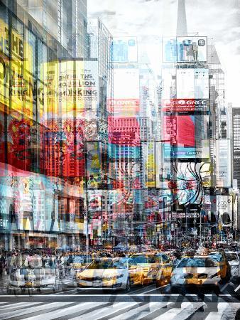 Urban Vibrations Series, Fine Art, Times Square, Manhattan, New York City, United States