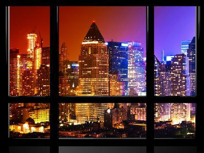 Window View, Special Series, Landscape, Manhattan by Night, Theater District, Times Square, NYC, US