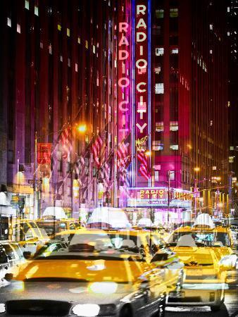 Urban Vibrations Series, Fine Art, Radio City Music Hall, New York City, United States
