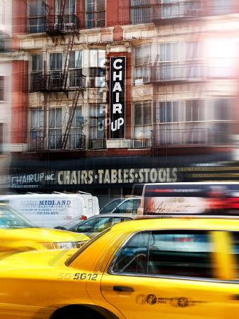Urban Stretch Series and Vibrations, Fine Art, Downtown Manhattan, New York, United States
