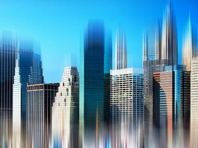 Urban Stretch Series, Fine Art, Financial District, Manhattan, New York, United States