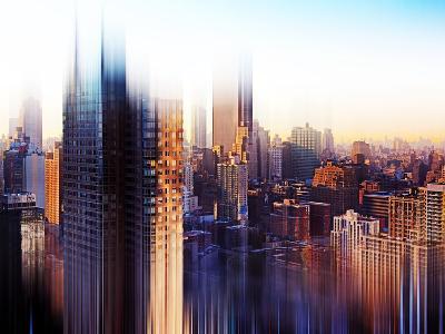 Urban Stretch Series, Fine Art, Theater District, Manhattan, New York, United States