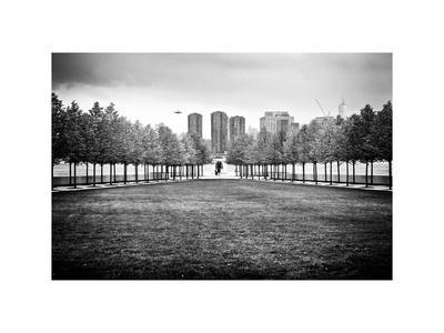 Franklin D. Roosevelt (Fdr) Four Freedoms Park, Roosevelt Island, Manhattan, New York, White Frame