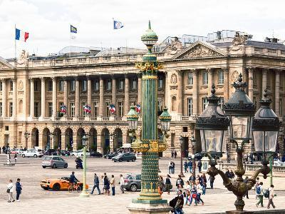 Place De La Concorde, Hotel Crillon and the Ministry of the Navy, Paris, France
