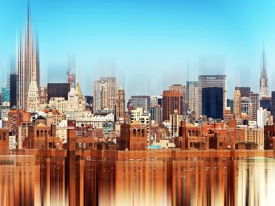Urban Stretch Series, Fine Art, Manhattan View, Downtown, New York, United States