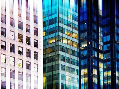 Urban Stretch Series, Fine Art, Building View, Times Square, Manhattan, New York, United States