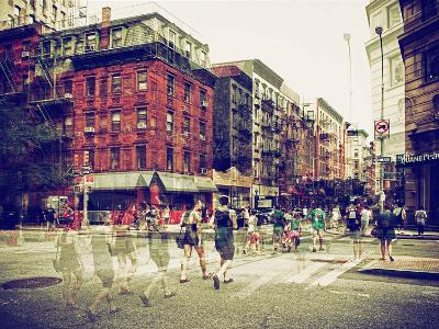 Urban Vibrations Series, Fine Art, Urban Scene, Lafayette Street, Lower Manhattan, NYC, US