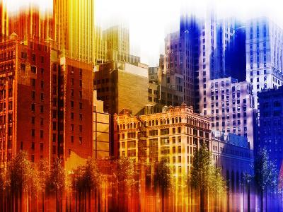 Urban Stretch Series, Fine Art, World Trade Center District, Downtown, New York, United States