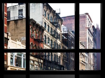 Window View, Special Series, Soho Building, Manhattan, New York City, United States