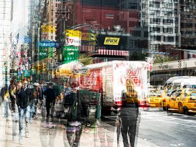 Urban Vibrations Series, Fine Art, 33rd St, Urban Style, Manhattan, New York City, United States