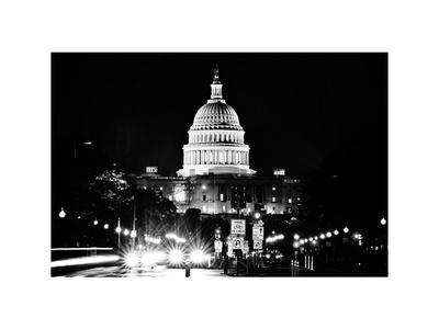 The Capitol Building, US Congress, Washington D.C, District of Columbia, White Frame