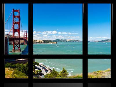 Window View, Special Series, Golden Gate Bridge, San Francisco, California, United States