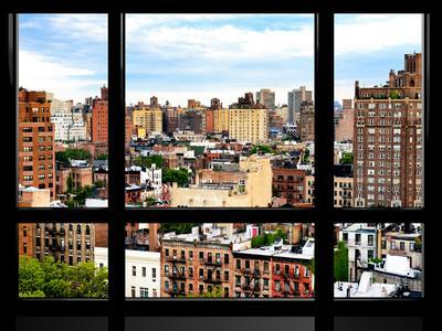 Window View, Special Series, Buildings of Chelsea, Meatpacking District, Manhattan, New York