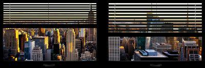 Window View with Venetian Blinds: Architecture and Buildings