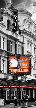 Thriller Live Lyric Theatre London - Celebration of Michael Jackson - UK - Photography Door Poster