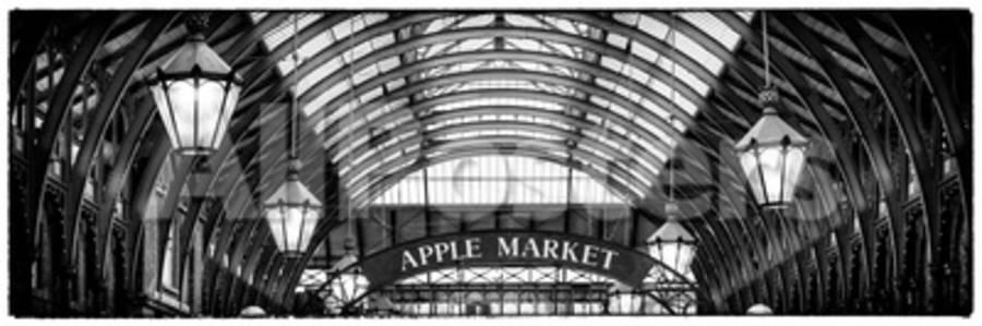 Apple Market in Covent Garden Market - Coven Garden - London - UK - England  - United Kingdom