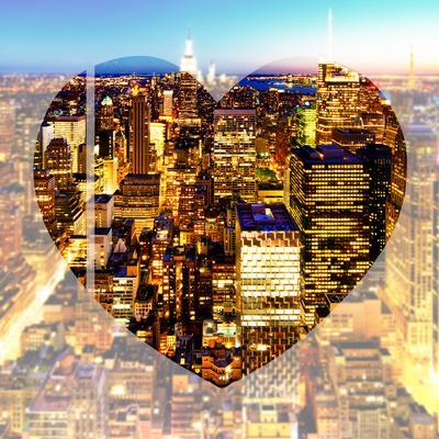 Love NY Series - Manhattan at Night - New York - USA