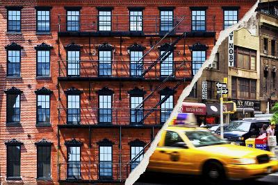 Dual Torn Posters Series - New York City