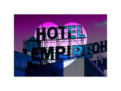 Love NY Series - Hotel Empire Sign - Manhattan - New York City - USA