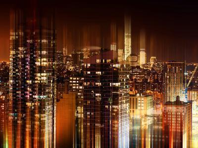Urban Stretch Series - Manhattan at Night - The One World Trade Center - New York