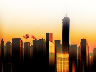 Urban Stretch Series - The One World Trade Center at Sunset - Manhattan - New York