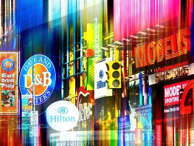 Urban Stretch Series - Advertising Signs Times Square - Manhattan - New York