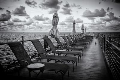 Pontoon with Deck Chairs - Key West - Florida
