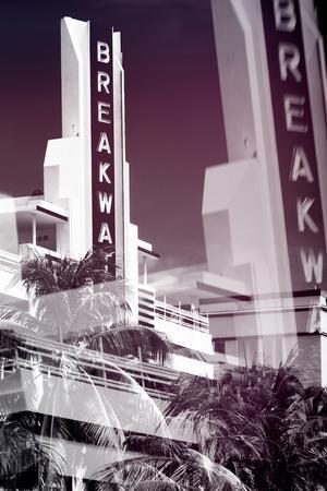 Instants of Series - Art Deco Architecture of Miami Beach - The Esplendor Hotel Breakwater