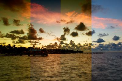 Triptych Collection - Sunrise to Key West - Florida