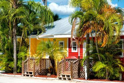 Colored Houses - Florida