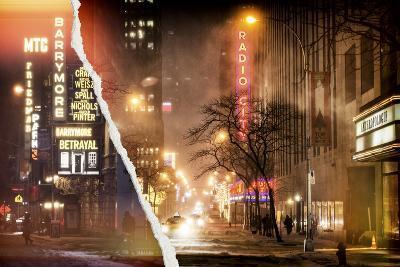 Dual Torn Posters Series - New York