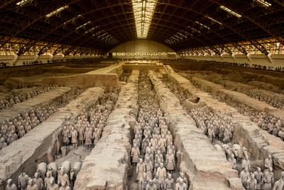 China 10MKm2 Collection - Terracotta Warriors and Horses