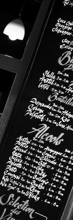 Paris Focus - Bar Menu