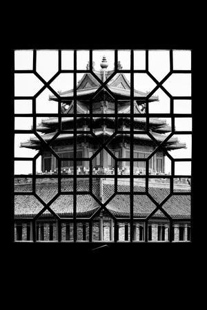 China 10MKm2 Collection - Asian Window - Watchtower - Forbidden City