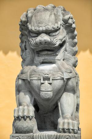 China 10MKm2 Collection - Stone Lion Statue