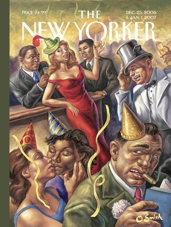The New Yorker Cover - December 25, 2006