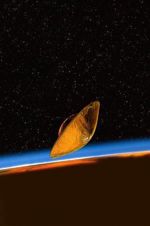 Huygens Probe At Titan, Artwork