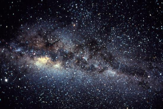 Optical Image Of The Milky Way In The Night Sky